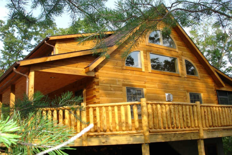 Appalachian Dovetail Full Log Cabin