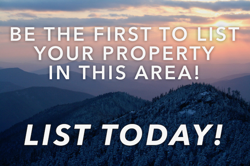 Be the first to list your property!